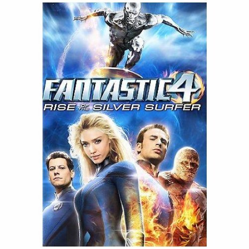 Fantastic 4 Rise Of The Silver Gruffudd Alba Evans Chiklis Pg
