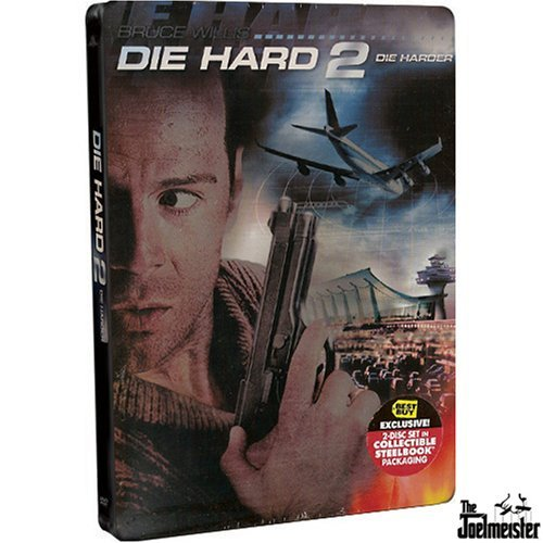 Die Hard Die Hard 2 Die Harder Willis Bedelia Atherton 2 Disc Exclusive Steelbook