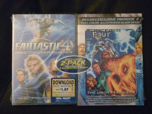 Fantastic 4 Rise Of The Silver Gruffudd Alba Evans Chiklis Includes Universal Guide