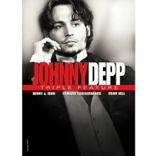 Depp Johnny Triple Feature Benny & Joon From Hell Edward Scissorhands