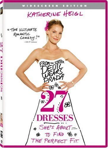 27 Dresses Heigl Marsden Burns DVD Pg 13 Ws
