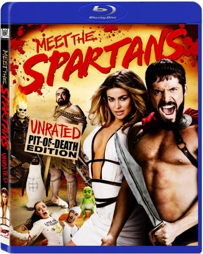 Meet The Spartans Electra Van Wit Sorbo Method M Blu Ray Ws Ur