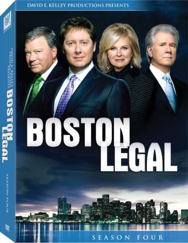 Boston Legal Season 4 DVD