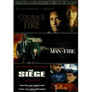 Courage Under Fire Man On Fire Siege Triple Feature
