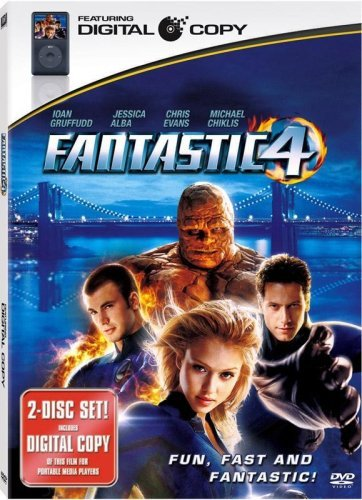Fantastic Four Fantastic Four Ws Incl. Digital Copy Pg13