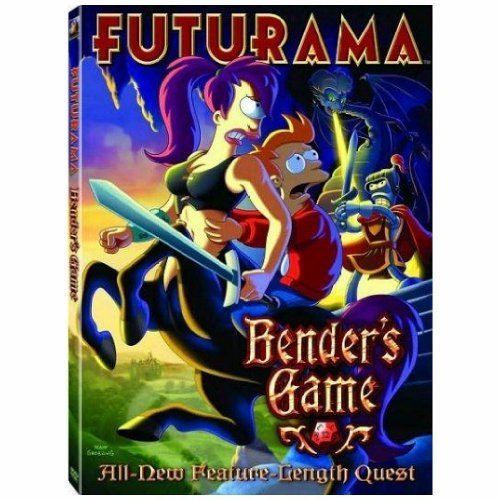 Futurama Benders Game DVD Benders Game