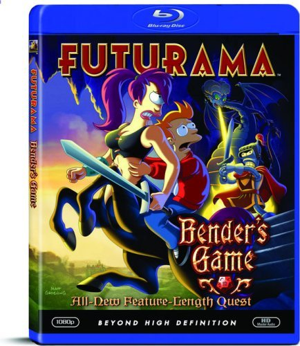 Futurama Futurama Benders Game Blu Ray Ws Nr
