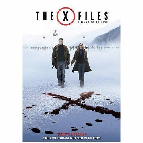 X Files I Want To Believe Duchovny Anderson DVD Pg13 Ws