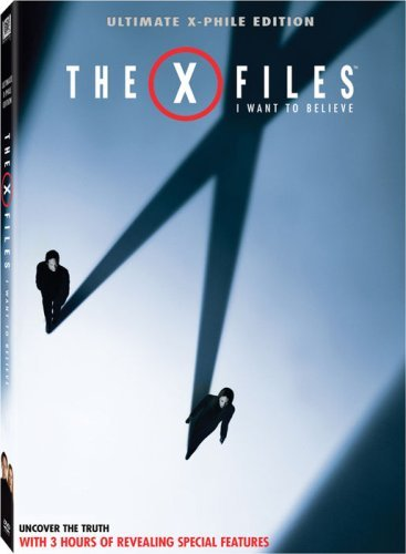 X Files I Want To Believe Duchovny Anderson DVD Pg13