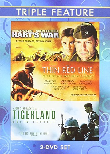 Hart's War Thin Red Line Tigerland Triple Feature