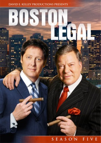Boston Legal Season 5 DVD Nr