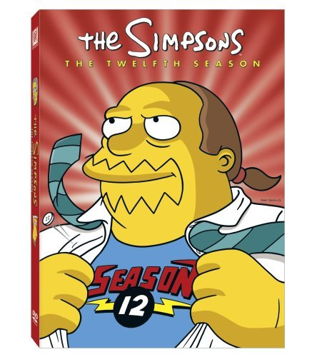 Simpsons Season 12 DVD Season 12