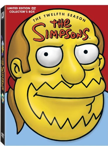 Simpsons Season 12 DVD Molded Head Season 12