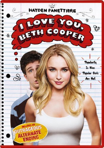 I Love You Beth Cooper Rust Panettiere DVD Pg13