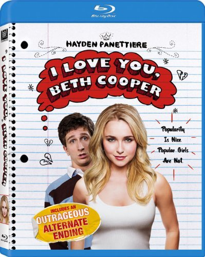 I Love You Beth Cooper Rust Panettiere Blu Ray Ws Pg13