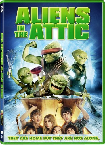 Aliens In The Attic Tisdale Richter Nealon Meadows DVD Pg