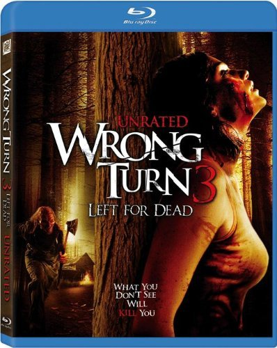 Wrong Turn 3 Left For Dead Wrong Turn 3 Left For Dead Blu Ray Ws Ur