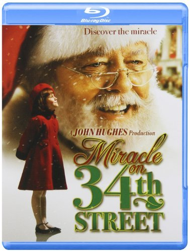 Miracle On 34th Street (1994) Attenborough Perkins Wilson Blu Ray Ws Pg