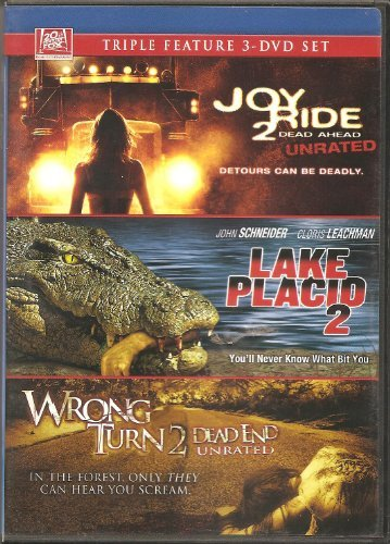 Joy Ride 2 Lake Placid 2 Wrong Turn 2 Triple Feature