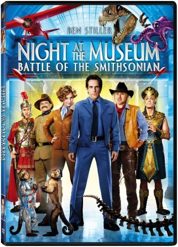 Night At The Museum Battle Of The Smithsonian Stiller Adams Wilson Williams DVD Pg Ws
