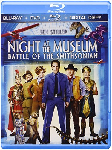 Night At The Museum Battle Of The Smithsonian Stiller Adams Wilson Williams Blu Ray Pg Ws