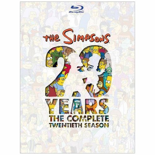 Simpsons Season 20 Blu Ray Season 20
