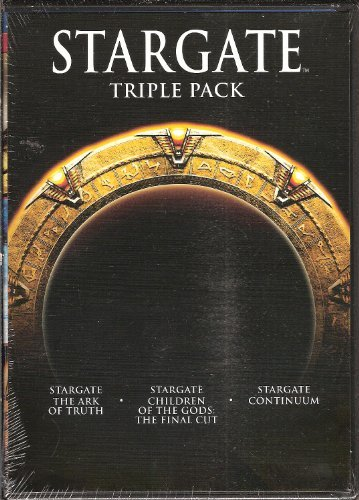 Stargate Triple Pack Ark Of Truth Continuum Children Of The Gods