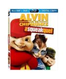 Squeakquel Alvin & The Chipmunks Blu Ray Ws Pg