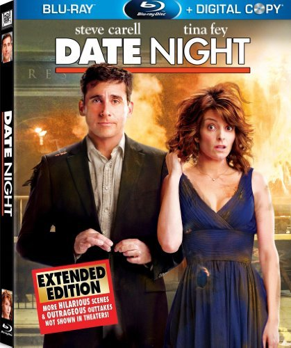 Date Night Carell Fey Wahlberg Franco Blu Ray Ws Incl.Dvd+digital Pg13 2 Br