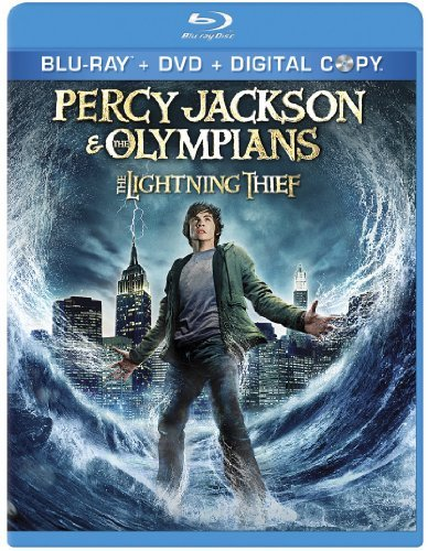 Percy Jackson & The Olympians Lightning Thief Lerman Brosnan Bean Dawson Pg Ws Blu Ray DVD Dc