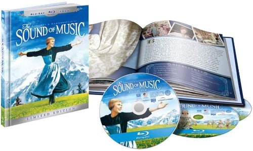 Sound Of Music Andrews Plummer Blu Ray Ws 45th Anniv. Ed. G 2 Br Incl. DVD