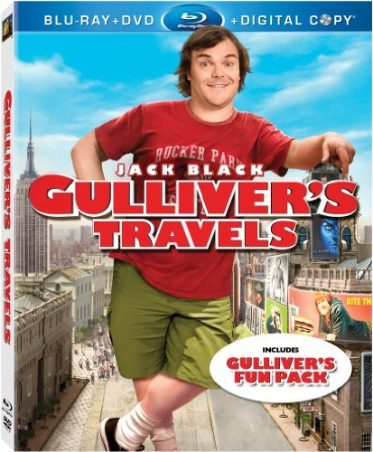 Gulliver's Travels Black Jack Blu Ray Ws Pg Incl. DVD Dc