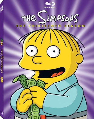 Simpsons Season 13 Blu Ray