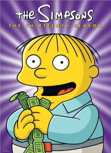 Simpsons Season 13 DVD Season 13