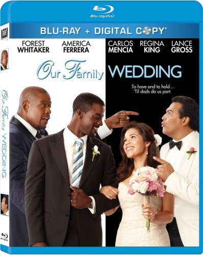 Our Family Wedding Whitaker Mencia Ferrera Blu Ray Ws Pg13