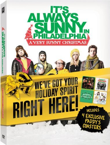 It's Always Sunny In Philadelpia Very Sunny Christmas DVD Coasters Very Sunny Christmas