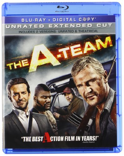 A Team (2010) Neeson Cooper Jackson Blu Ray Ws Pg13 Incl. Dc