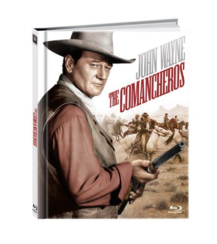 Comancheros Wayne Whitman Blu Ray Ws 50th Anniv. Ed. Nr Incl. Booklet