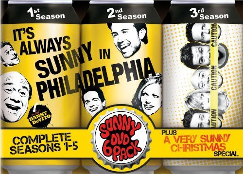 It's Always Sunny In Philadelpia Seasons 1 5 & Christmas Special DVD Seasons 1 5 & Christmas Special