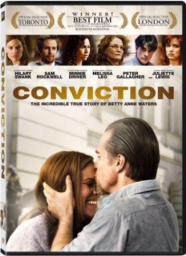 Conviction (2010) Swank Rockwell Driver Ws R