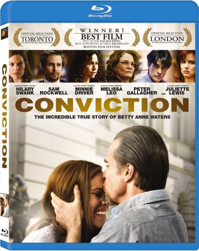 Conviction (2010) Swank Rockwell Driver Blu Ray Ws R