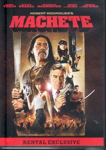 Machete Trejo Alba Rodriguez Deniro Rental Version