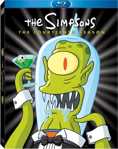 Simpsons Season 14 Blu Ray Season 14