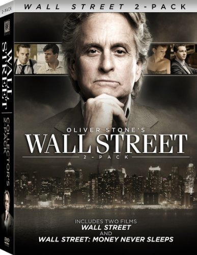 Wall Street 1 & 2 Douglas Michael Ws Back To Back Pg13