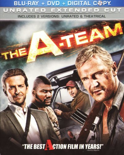 A Team (2010) Neeson Cooper Jackson 3 Disc Blu Ray Combo Pack