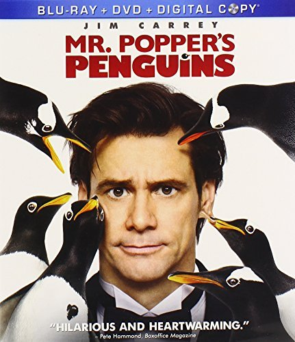 Mr. Popper's Penguins Carreyjim Blu Ray Ws Pg Incl. DVD Dc