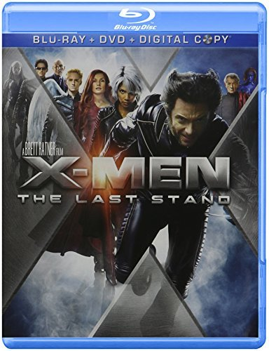 X Men 3 Last Stand X Men 3 Last Stand Blu Ray Ws Pg13 Incl. DVD Dc