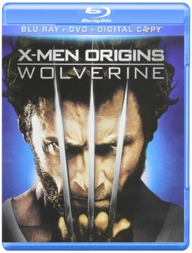 X Men Origins Wolverine X Men Origins Wolverine Blu Ray Ws Pg13 Incl. DVD Dc