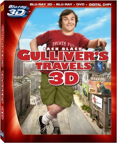 Gulliver's Travels 3d Blackjack Blu Ray Ws 3dtv Pg 4 Br Incl. Dc