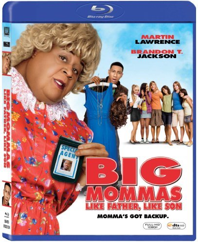 Big Mommas Like Father Like S Lawrence Jackson Blu Ray Ws Pg13 3 Br Incl. DVD Dc